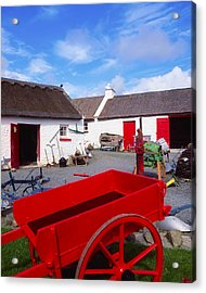 Co Donegal, Ireland Cottage Near Acrylic Print by The Irish Image Collection