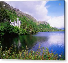 Co Galway, Ireland, Kylemore Abbey Acrylic Print by The Irish Image Collection