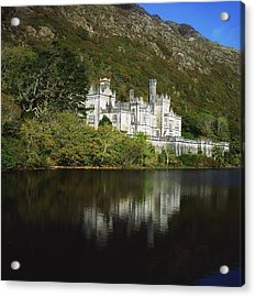 Co Galway, Kylemore Abbey Acrylic Print by The Irish Image Collection
