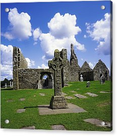 Co Offaly, Clonmacnoise Acrylic Print by The Irish Image Collection