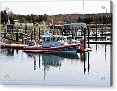 Coast Guard Acrylic Print by Extrospection Art