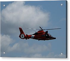 Coast Guard Rescue By Air Acrylic Print