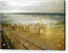 Coast Line Acrylic Print by Betsy Knapp