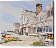 Coast Of Maine Acrylic Print by Andrea Timm