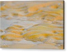 Coastal Abstract Acrylic Print by Fotosas Photography