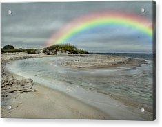 Coastal Color Acrylic Print by Betsy Knapp