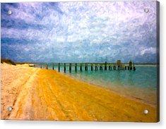 Coastal Dreamland Acrylic Print by Betsy Knapp