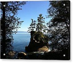 Coastal Seastack Acrylic Print