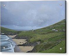 Acrylic Print featuring the photograph Coastline  by Hugh Smith