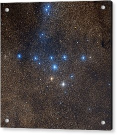 Coathanger Star Cluster Acrylic Print by Celestial Image Co.