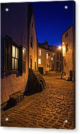 Cobblestone Road, North Yorkshire Acrylic Print by John Short