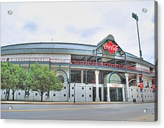 Acrylic Print featuring the photograph Coca Cola Field  by Michael Frank Jr