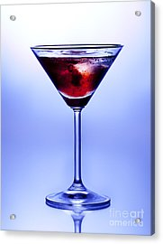 Cocktail Acrylic Print by Jane Rix