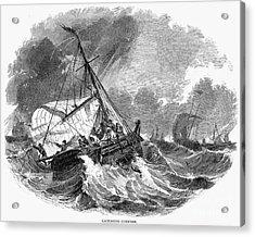 Cod Fishing, 1876 Acrylic Print by Granger