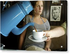 Coffee Being Served In Acrylic Print by Sisse Brimberg & Cotton Coulson, KEENPRESS