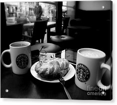 Coffee In Berlin  2 Acrylic Print by Tanya  Searcy