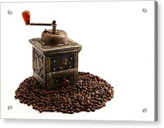 Coffee Acrylic Print by Tom Gowanlock