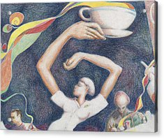 Coffee Acrylic Print by Vincent Randlett III