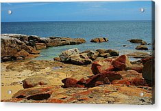 Coffin Bay Np 02 Acrylic Print by David Barringhaus