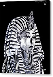 Coffin Of The King Acrylic Print