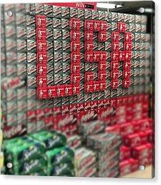 #coke #sprite #dietcoke #pop #usa Acrylic Print