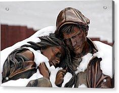 Cold Comfort Acrylic Print by Brian Davis