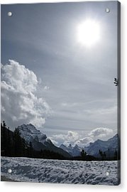 Acrylic Print featuring the photograph Cold Mountains by Brian Sereda