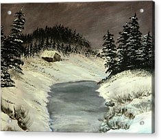 Cold Out There Acrylic Print