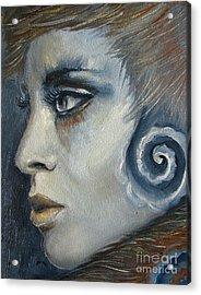 Cold Wind Acrylic Print by Iglika Milcheva-Godfrey