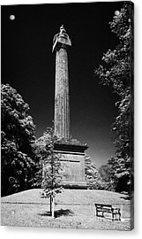 Cole Memorial Monument Enniskillen Acrylic Print by Joe Fox