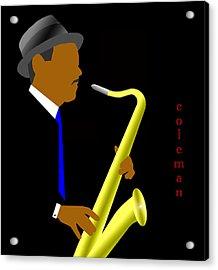 Coleman Hawkins Acrylic Print