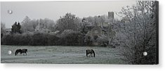 Coleshill Acrylic Print by Michael Standen Smith