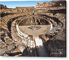 Coliseum Acrylic Print by Gregory Dyer
