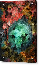Collecting Acrylic Print by Jack Zulli