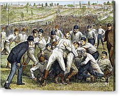 College Football Game, 1879 Acrylic Print