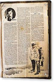 Colliers Jan 5 1918 Pg 7 Acrylic Print by Roy Foos