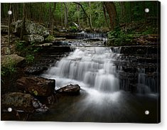 Collins Creek Falls Acrylic Print