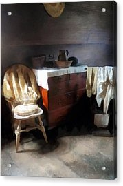 Colonial Nightclothes Acrylic Print by Susan Savad
