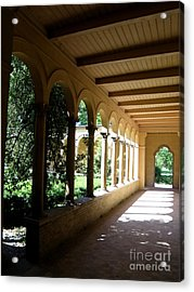 Colonnade  2 Acrylic Print by Tanya  Searcy