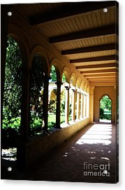 Colonnade  3 Acrylic Print by Tanya  Searcy