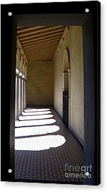 Colonnade  4 Acrylic Print by Tanya  Searcy