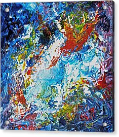 Color Explosion No Fifty Six  Acrylic Print by Ten Eyck Hunt