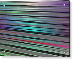 Acrylic Print featuring the digital art Color Fun 2 by Jeff Iverson