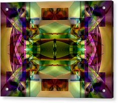 Color Genesis 1 Acrylic Print