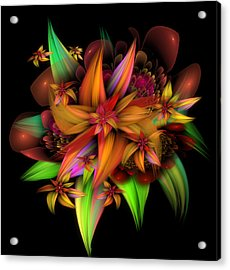 Color In Bloom Acrylic Print