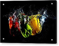 Color Splash Acrylic Print by Michael Murphy
