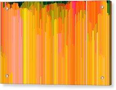 Color Tones 2  Acrylic Print by Lyle Crump