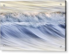 Color Wave IIi Acrylic Print by Rob Travis