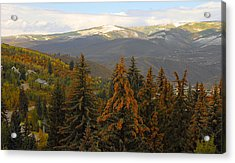 Colorada Mountains Acrylic Print