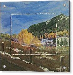 Colorado Almost Winter Acrylic Print by Anita Burgermeister